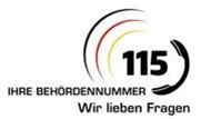 Behördenrufnummer 115 Logo