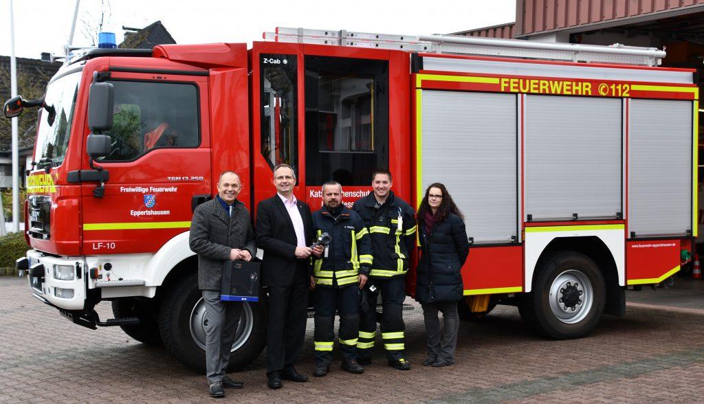 Übergabe Wärmebildkamera Feuerwehr Eppertshausen