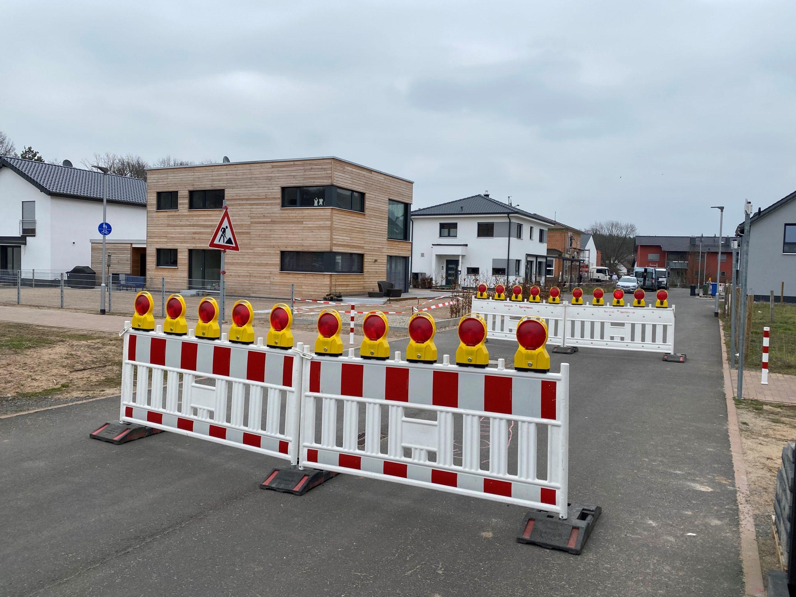 Rad- und Fußweg im Neubaugebiet wurde gesichert