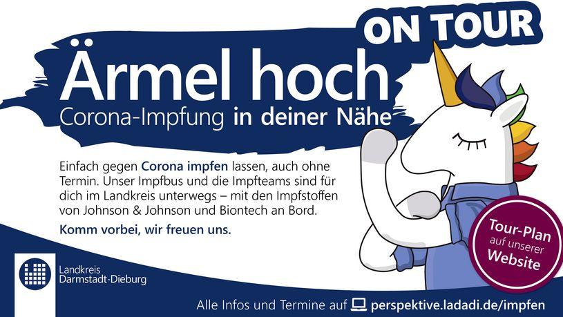 Corona-Impfung in Eppertshausen -Ärmel hoch on Tour-